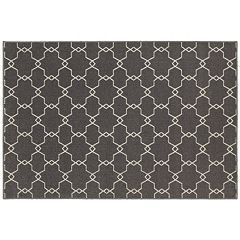 StyleHaven Longview Geometric Trellis Indoor Outdoor Rug