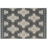 StyleHaven Longview Large Quatrefoil Indoor Outdoor Rug