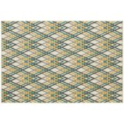 StyleHaven Longview Argyle Chevron Indoor Outdoor Rug