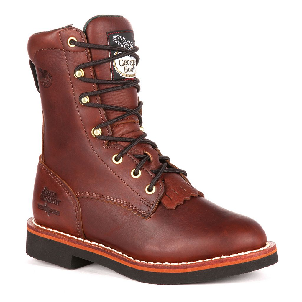 Georgia Boot Lacer 8-in. Women's Work Boots