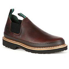 Georgia Boot Giant Romeo Women's Chelsea Slip-On Work Shoes by