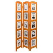 nexxt Triple 15-Photo Panel Floor Screen