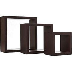 nexxt Cubi 3-piece Wall Shelf Set