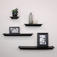 nexxt Classic 4-piece Wall Shelf Set