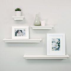 nexxt Classic 4-piece Wall Shelf Set