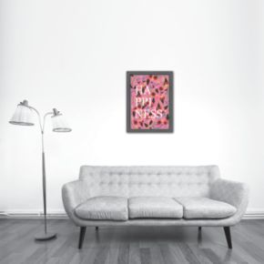 Americanflat ''Happiness'' Framed Wall Art