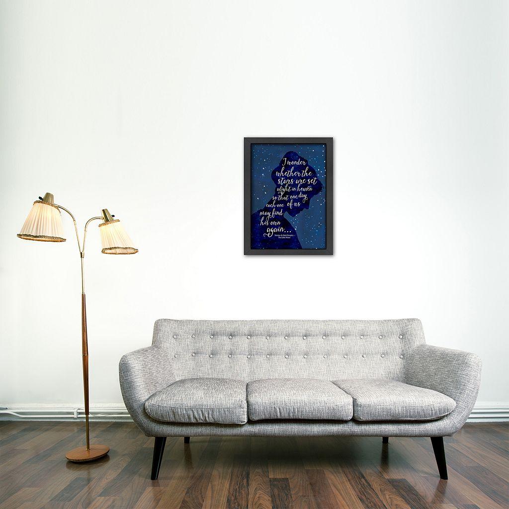 Americanflat ''I Wonder'' Framed Wall Art