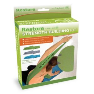 Gaiam Restore Strength & Flexibility Resistance Band Kit