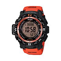 Casio Men's PRO TREK Digital Atomic Watch - PRW3500Y-4CR