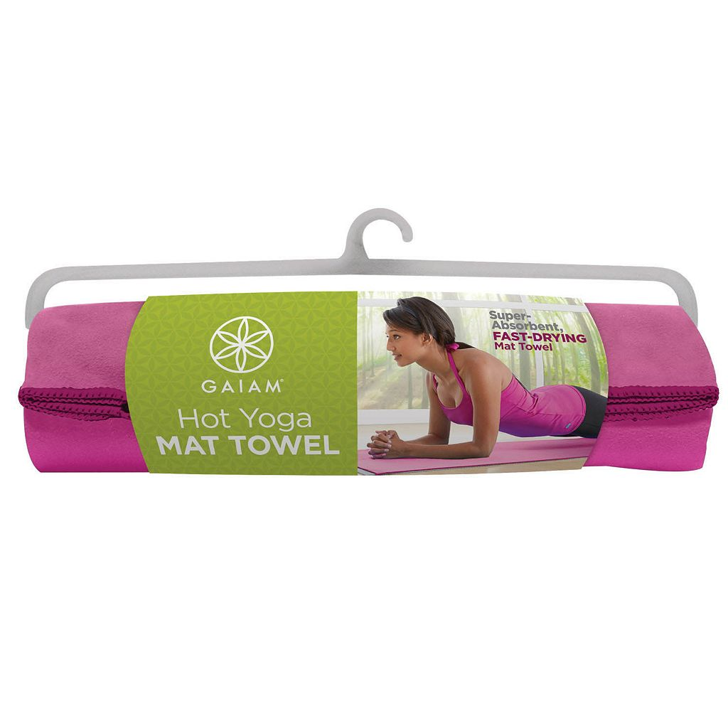 Gaiam Fandango Microfiber Hot Yoga Towel
