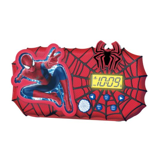 Marvel Spider-Man Night Glow Alarm Clock