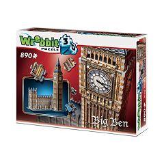 Big Ben 890-pc. 3D Puzzle by Wrebbit by