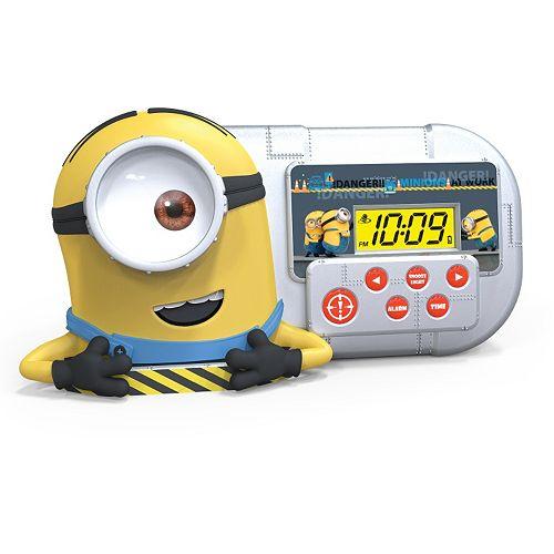 Despicable Me Minion Night Glow Alarm Clock