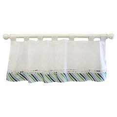 My Baby Sam Follow Your Arrow Window Valance