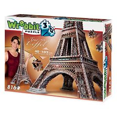 Eiffel Tower 816-pc. 3D Puzzle by Wrebbit by
