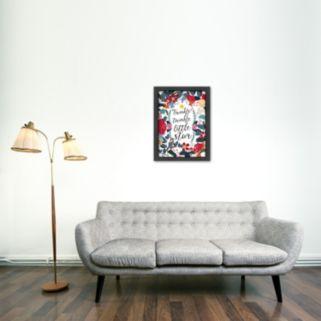 Americanflat ''Twinkle Twinkle Little Star'' Framed Wall Art