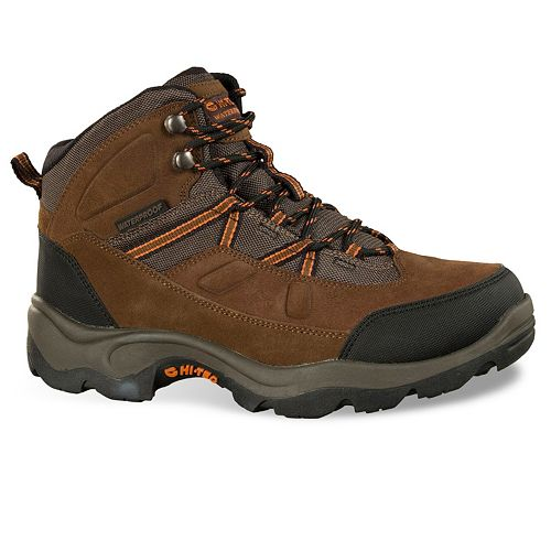 232ffc5102d Hi-Tec Bandera Pro Men's Mid-Top Waterproof Steel-Toe Work Boots