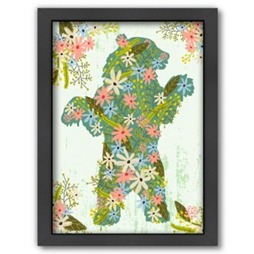 Americanflat Bear Framed Wall Art