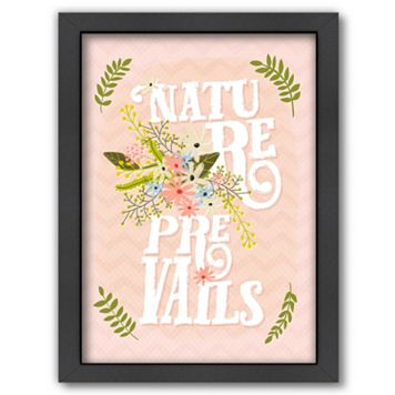 Americanflat ''Nature Prevails'' Framed Wall Art