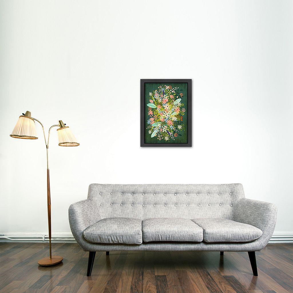 Americanflat Flowers Framed Wall Art