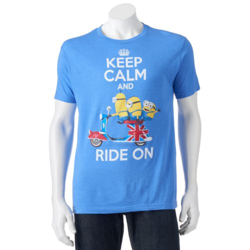 Despicable Me Minions ''Keep Calm And Ride On'' Tee - Men