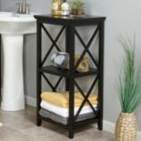 RiverRidge Home X-Frame 3-Shelf Storage Tower