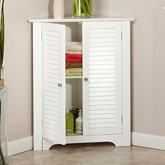 RiverRidge Home Ellsworth 3-Shelf Corner Cabinet