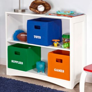 RiverRidge Kids Folding ''Games'' Storage Bin
