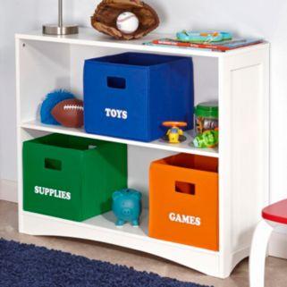 RiverRidge Kids Folding ''Supplies'' Storage Bin