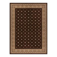 Merinos Pin Dot Framed Rug
