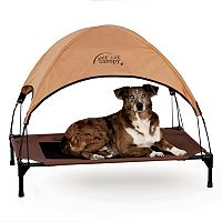 K&H Large Tan Pet Cot Canopy