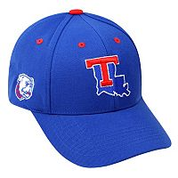 Adult Top of the World Louisiana Tech Bulldogs Triple Threat Adjustable Cap