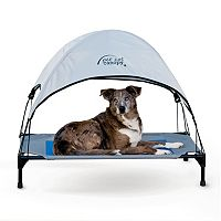 K&H Large Blue Pet Cot Canopy