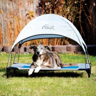 K&H Large Blue Pet Cot Canopy