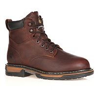 Rocky IronClad Men's 6 in Waterproof Steel Toe Work Boots