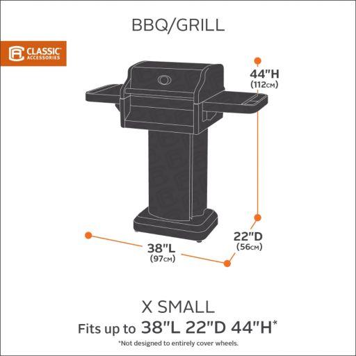 Classic Accessories Sodo X-Small Barbeque Grill Cover