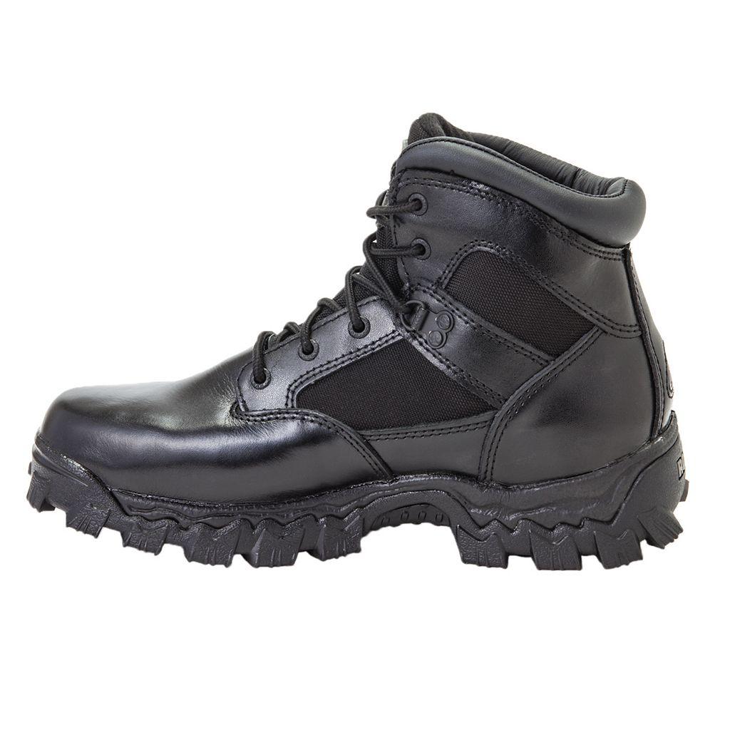 Rocky AlphaForce Men's 6-in. Waterproof Duty Boots