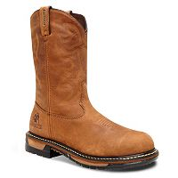 Rocky Original Ride Men's 11 in Waterproof Steel Toe Western Work Boots
