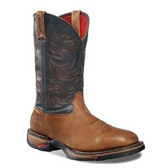 Rocky Long Range Men's Waterproof Western Work Boots