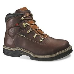Wolverine Buccaneer Men's Waterproof Steel-Toe Work Boots by