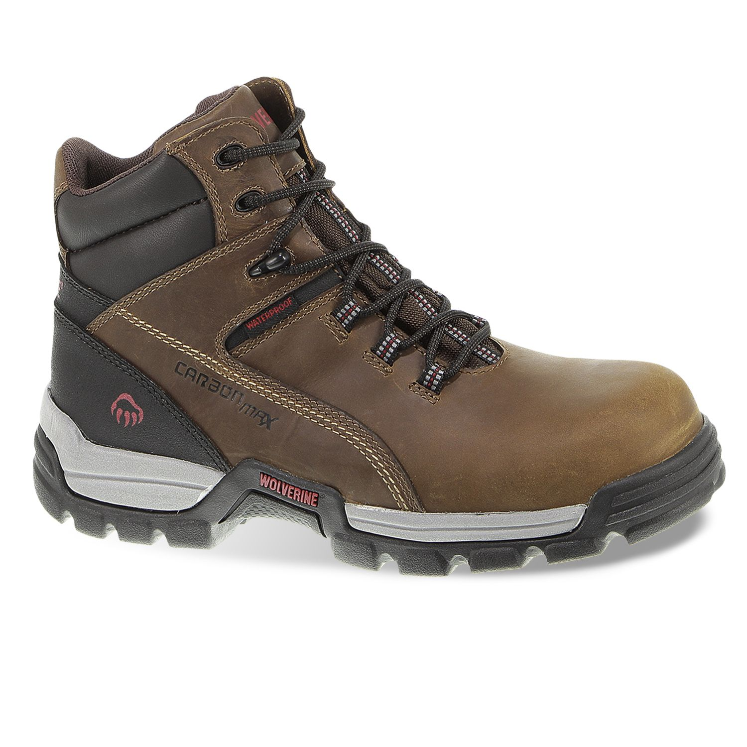 afffa3623fc Wolverine Tarmac Men's Waterproof 6-in. Composite-Toe Work Boots