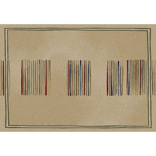 Merinos Stripes Geometric Rug