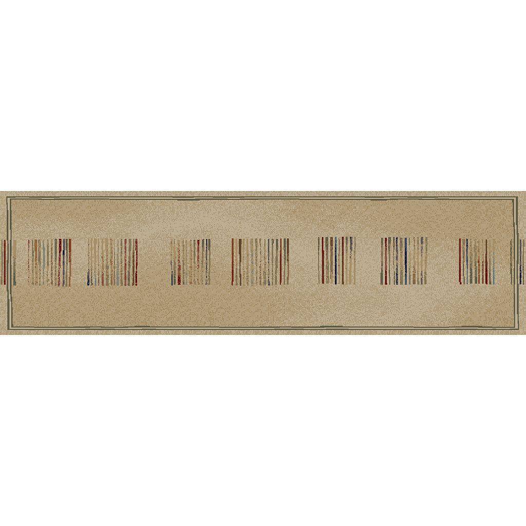 Merinos Stripes Geometric Rug