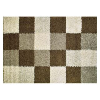 Merinos Manhattan Blocks Shag Rug