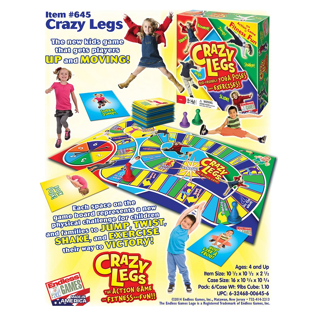 Crazy Legs Yoga Game by Endless Games