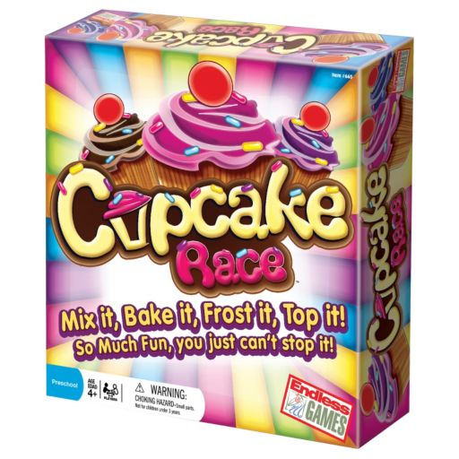 Cupcake Race Game by Endless Games