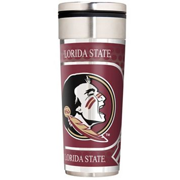 Florida State University Stainless Steel Metallic Travel Tumbler