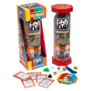 Identity Games Find It - Kids World Edition