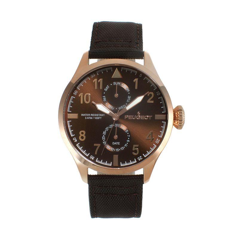 Peugeot Men's Watch, Brown