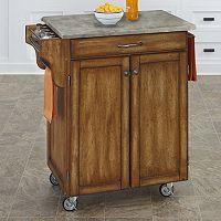 Home Styles 2-Door Create-a-Cart Kitchen Cart